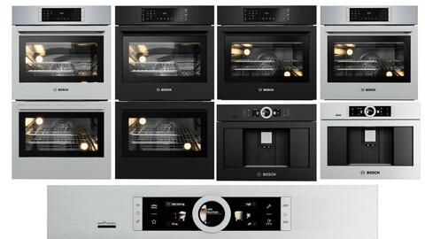 3dasset  bosch 800 series collection