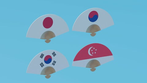 Asian Hand Fan Collection