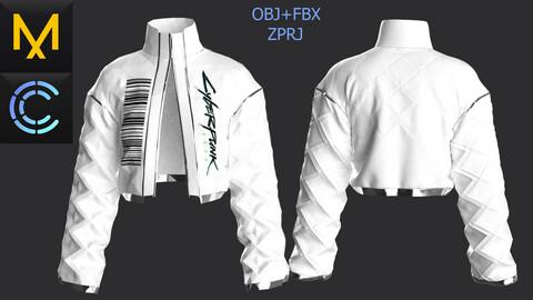 New concern Marvelous Clo3D CyberPunk Jacket