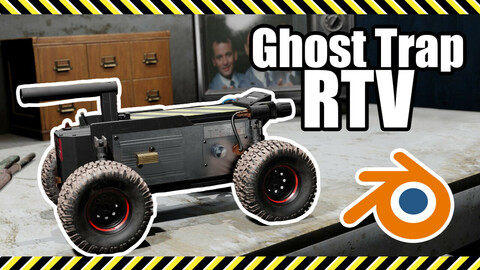 Ghostbusters Afterlife: RTV Ghost Trap