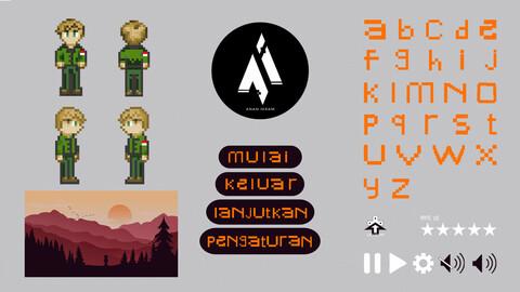 2D Pixel Game Bundle