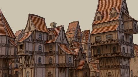 Medieval Buildings Pack