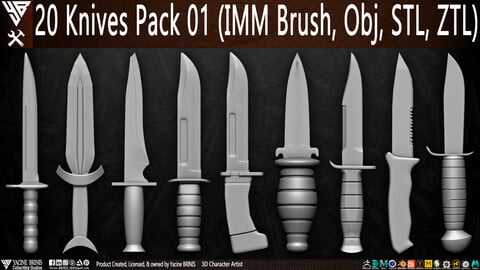 20 Knives Pack 01