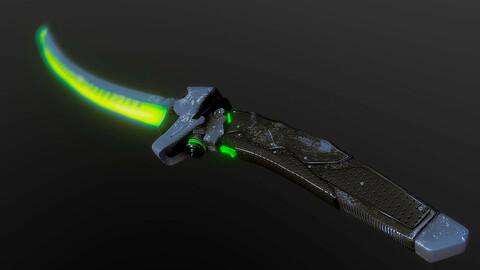 Genji Overwatch Sword