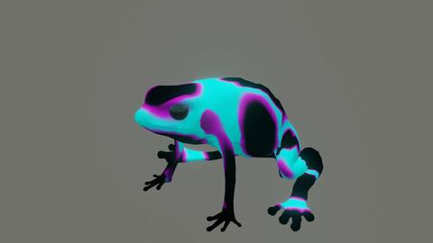 frog dendrobates auratus