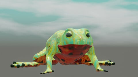 toad Bombina orientalis