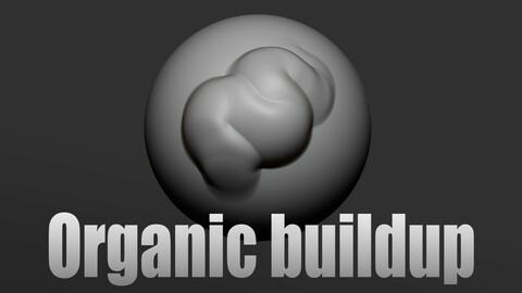 Organic buildup brush