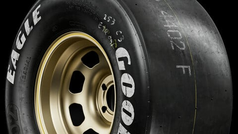GoodYear Eagle (Real World Details) White Moses