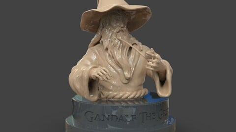 Gandalf The Grey Bust