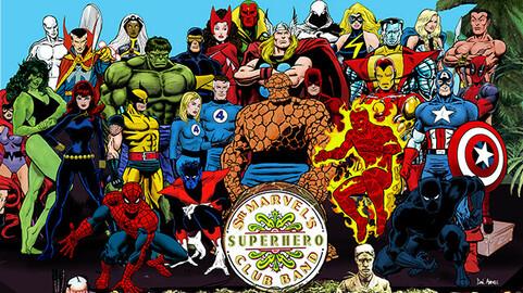 Sgt Marvels Superhero Club Band