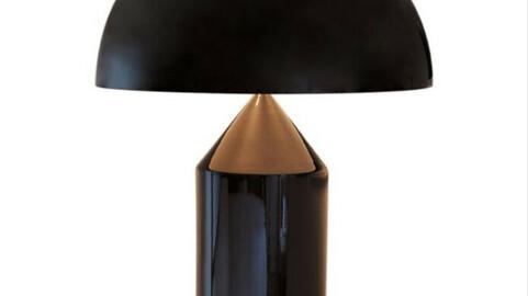 Atollo Metal Large Black