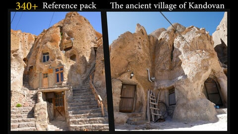 340+ Reference pack  The ancient village of Kandovan