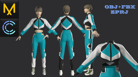 New concern Marvelous Clo3D Female Outfit
