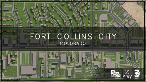 Fort Collins city Colorado (full city)