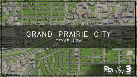 Grand Prairie city Texas (full city)