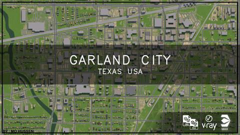 Garland city Texas USA (full city)