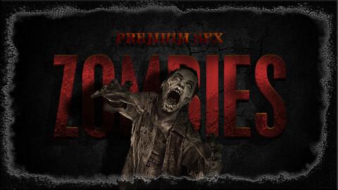 Premium Zombie SFX. Game SFX Asset. Unreal Engine 4.27