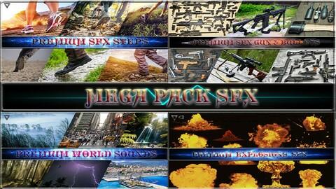 Mega Pack SFX. Game SFX Asset. Unreal Engine 4.27