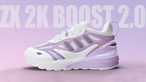 Adidas ZX 2k Boost 2.0 \ pink color