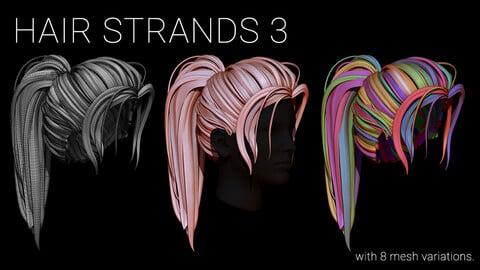 Hair Strands 3