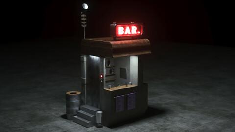 Sci-Fi Corner Bar
