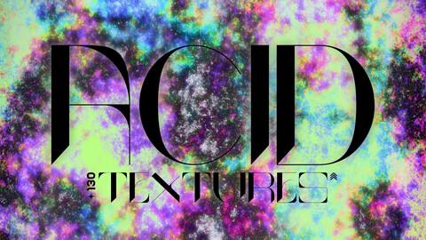 130 Acid Textures