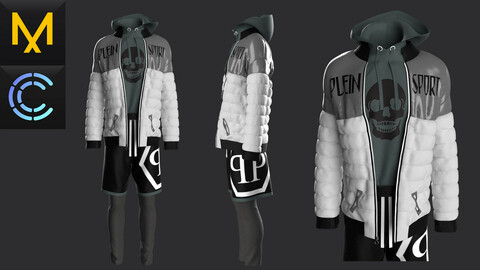 New concern Marvelous Clo3D Male Outfit