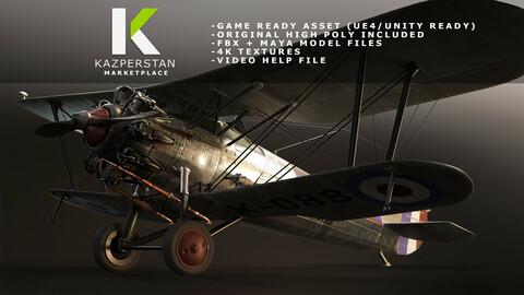 Bulldog Fighter Plane