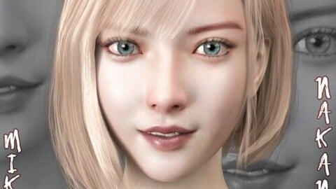 Miku Nakano for Genesis 8 Female (DAZ3D Studio)