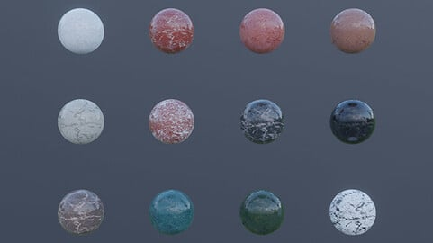Marble Materials and Tiles 4k