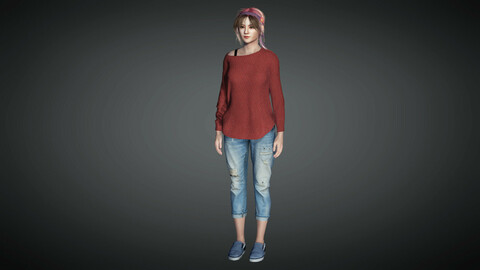 Female Character 20