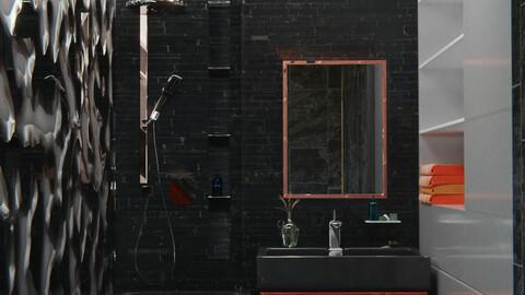 Bathroom series, pt1: redwood