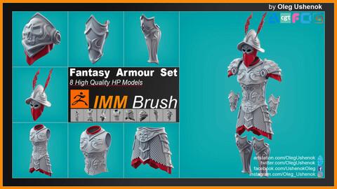 IMM Brush Armour Set