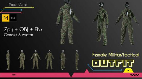 Female Militar/Tactical Outfit Marvelous/CLO project + OBJ