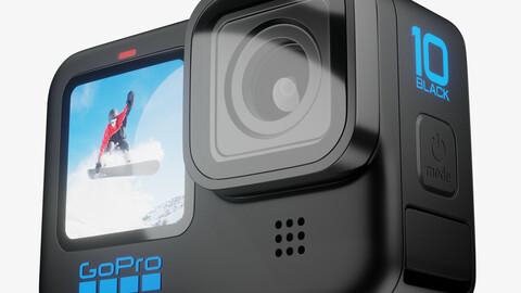 GoPro Hero 10 Black 3D model