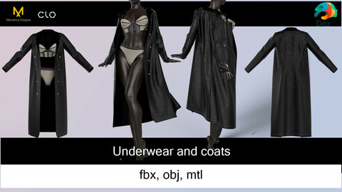 Underwear and coats