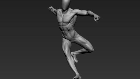 Male Full Body Sculpt Pose 16
