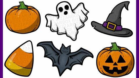 Twitch Sub Badges: Halloween