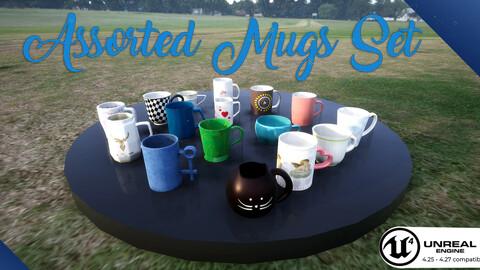 Assorted Mugs Set