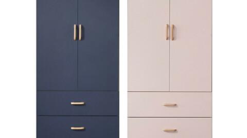 Ieum 3 drawer door wardrobe