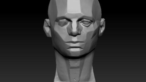 planes of head 3D