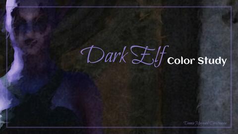 Dark Elf Color Study