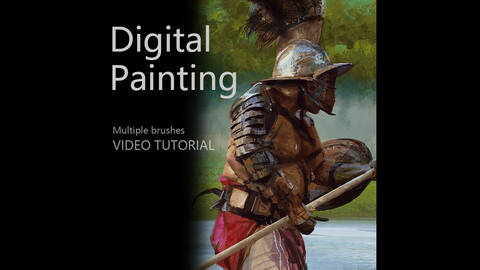 Digial Painting-MultipleBrushes