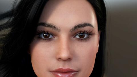 Amanda for Genesis 8 Female