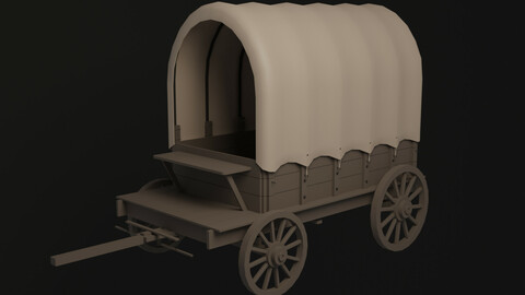 Covered cart