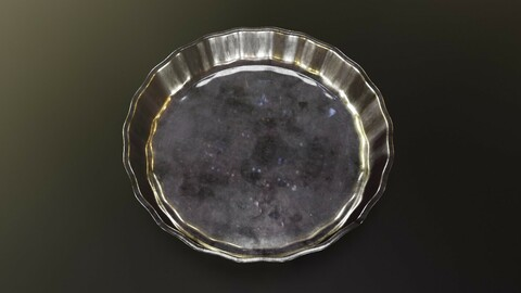 Glass Saucer