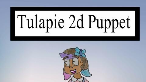 Tulapie 3D puppet Model