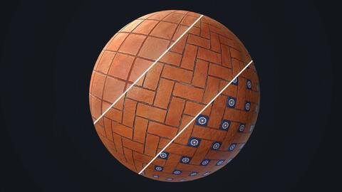Terracotta PBR Tileable Material Textures