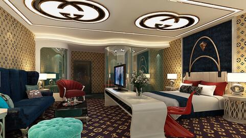bedroom hotel suites designed a complete 65