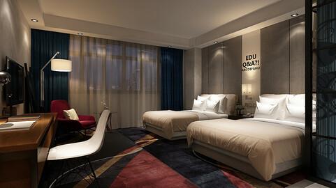 bedroom hotel suites designed a complete 68